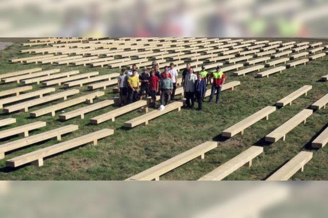 Papst-Bänke - ein Sinnbild der Nachhaltigkeit