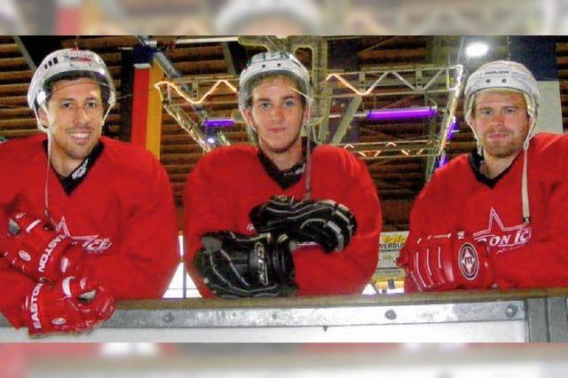 Eishockeycracks möchten in der dritten Schweizer Liga für Furore sorgen