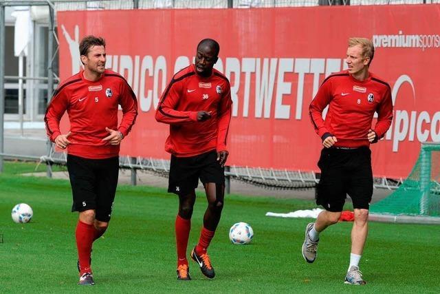 Rosenthal und Butscher trainieren wieder