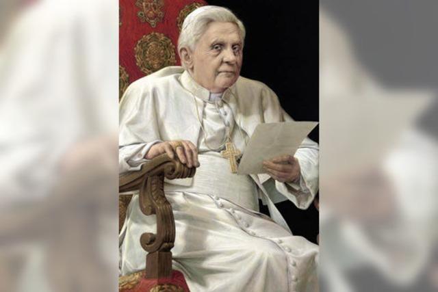Hurrle zeigt Michael Triegels Papst-Porträt