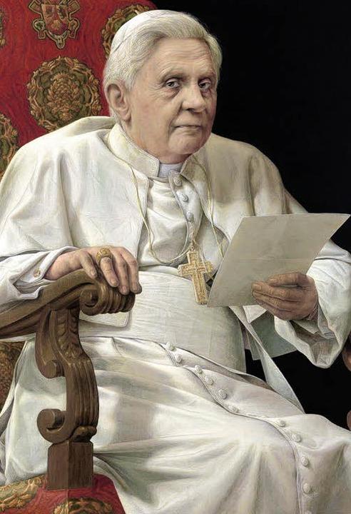 Altmeisterliche Porträtkunst: Der Leip...dnis von Papst Julius II. orientiert.   | Foto: Museum Sammlung Hurrle