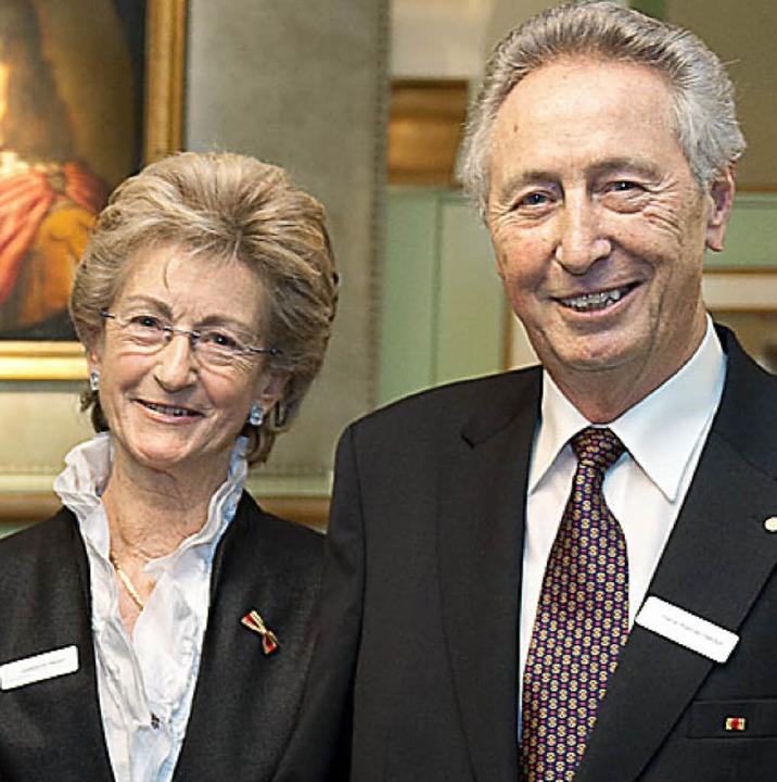 Ihnen ist die Kinderakademie zu verdanken: Josephine und Hans-Werner Hector.   | Foto: Marco schilling