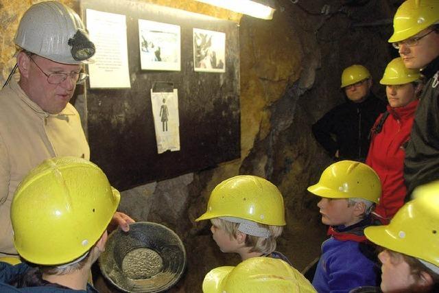 Bergwerk Teufelsgrund: Luft anhalten – ploing!