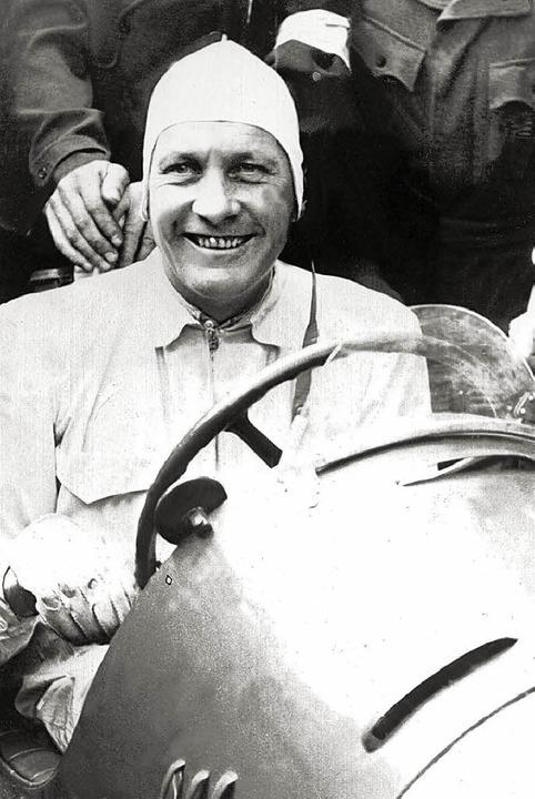 Die deutsche Rennfahrer-Legende Hans Stuck  | Foto: DPA