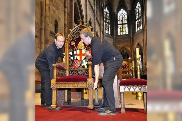 33 Mann zählen zum offiziellen Reisetross von Benedikt XVI.