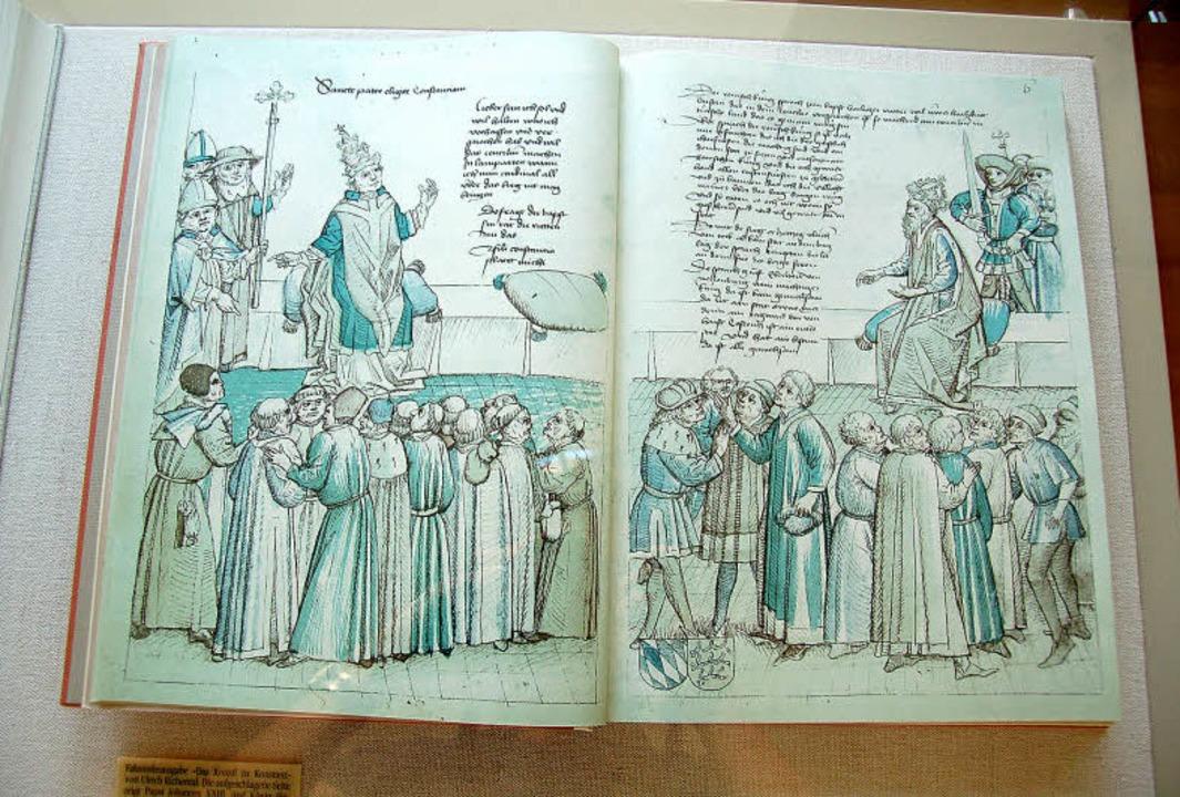 Museum für Stadtgeschichte in Neuenbur...det sich   das Grabmahl des Papstes.    | Foto: Andrea Drescher