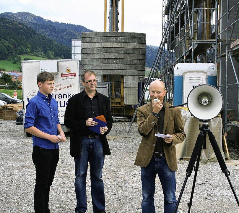 Christian Dittrich (rechts), Vorsitzen...werkern, den Hauptpersonen des Tages.   | Foto: Karin Heiss