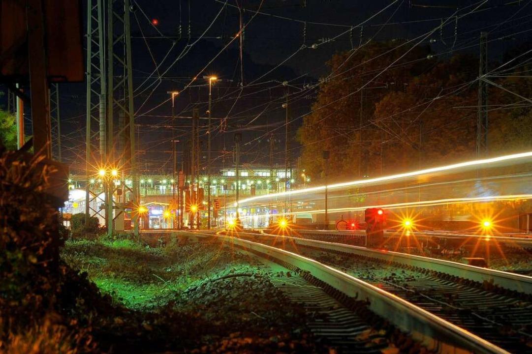 Alle drei Minuten ein Güterzug, auch u...rognose. Die Anwohner sind alarmiert    | Foto: Thomas Kunz