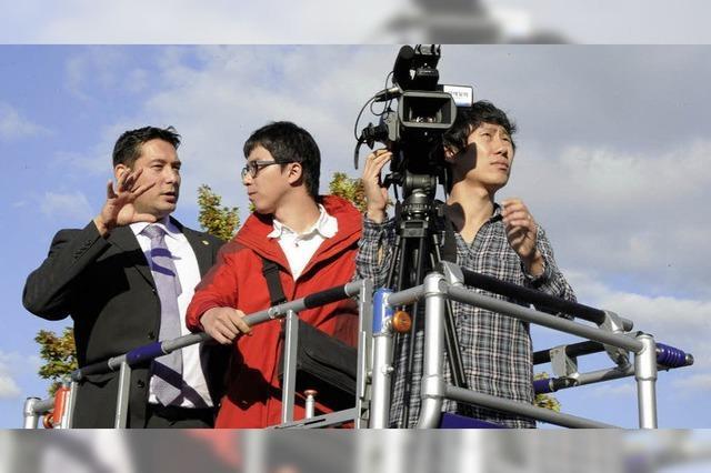 Koreaner drehen für Energiefilm