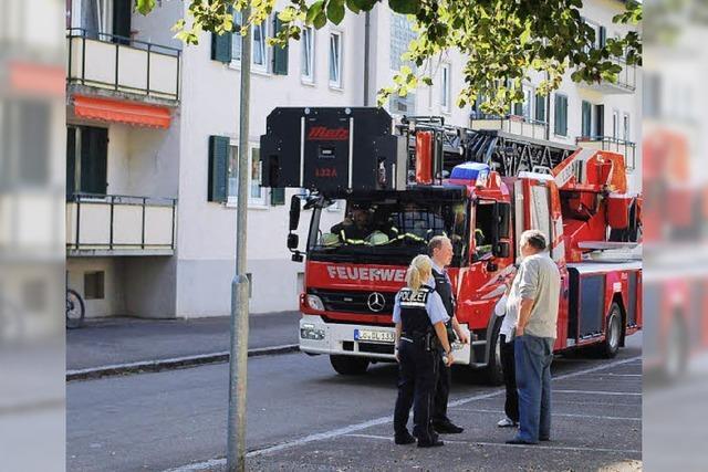 Wohnhaus evakuiert