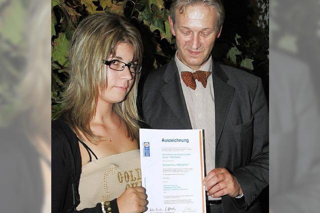 Auszeichnung der Unesco für Schulprojekt