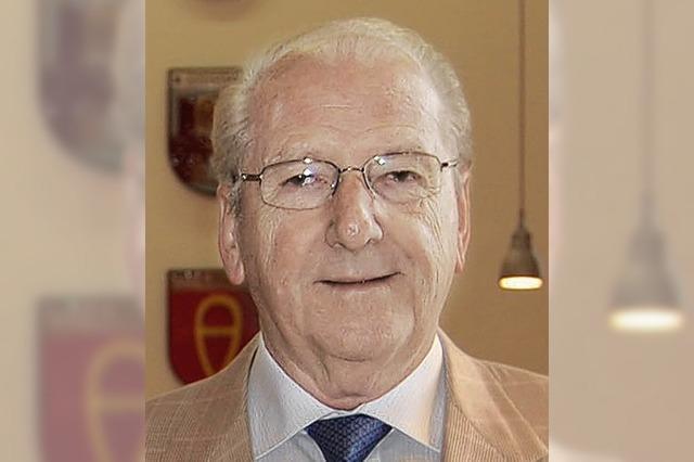 Hans Weber wird Rheinauer Ehrenbürger