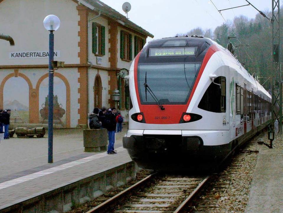 Die Regio-S-Bahn in Kandern bleibt wohl eine Vision.    | Foto: BZ
