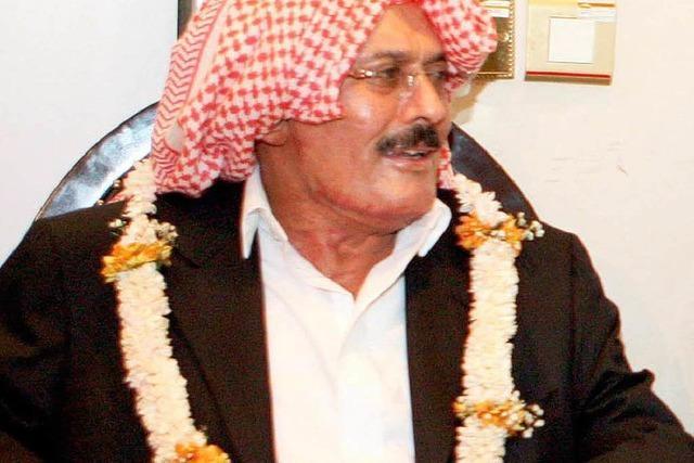 Jemens Präsident Saleh in Heimat zurückgekehrt
