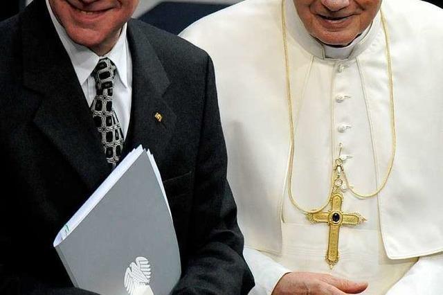 Papst im Bundestag: Die Lammert-Rede