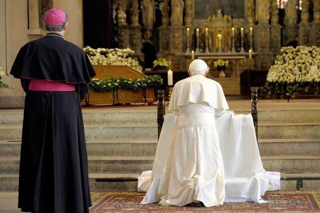 Papst: Keine schnellen Fortschritte in der Ökumene