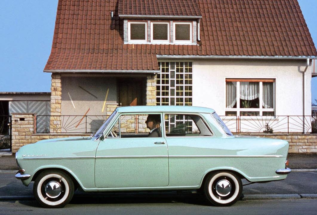 Der Traum der frühen Jahre: Opel Kadet...r wurde hier kleinformatig umgesetzt.   | Foto: opel
