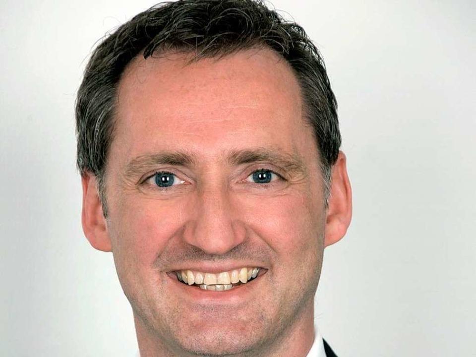 Martin Lüttecke, Altersvorsorgespezial...er Versicherungs- und VorsorgeCenter.   | Foto:  Sparkasse Freiburg-Nördlicher Breisgau