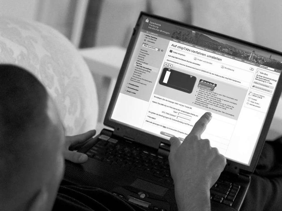 Das neue chipTAN-Verfahren macht Online-Banking noch sicherer.   | Foto:  Sparkasse Freiburg-Nördlicher Breisgau