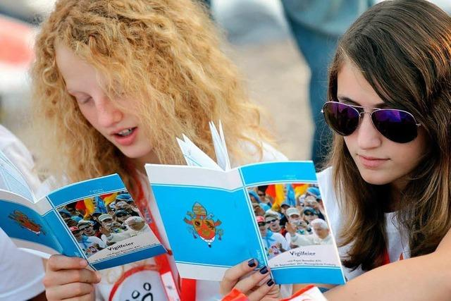 Fotos: Jugendvigil mit Papst Benedikt in Freiburg