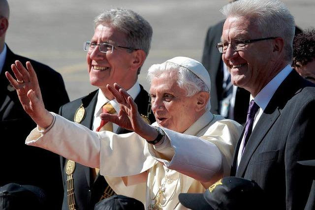 Fotoalbum: Papst-Empfang in Lahr
