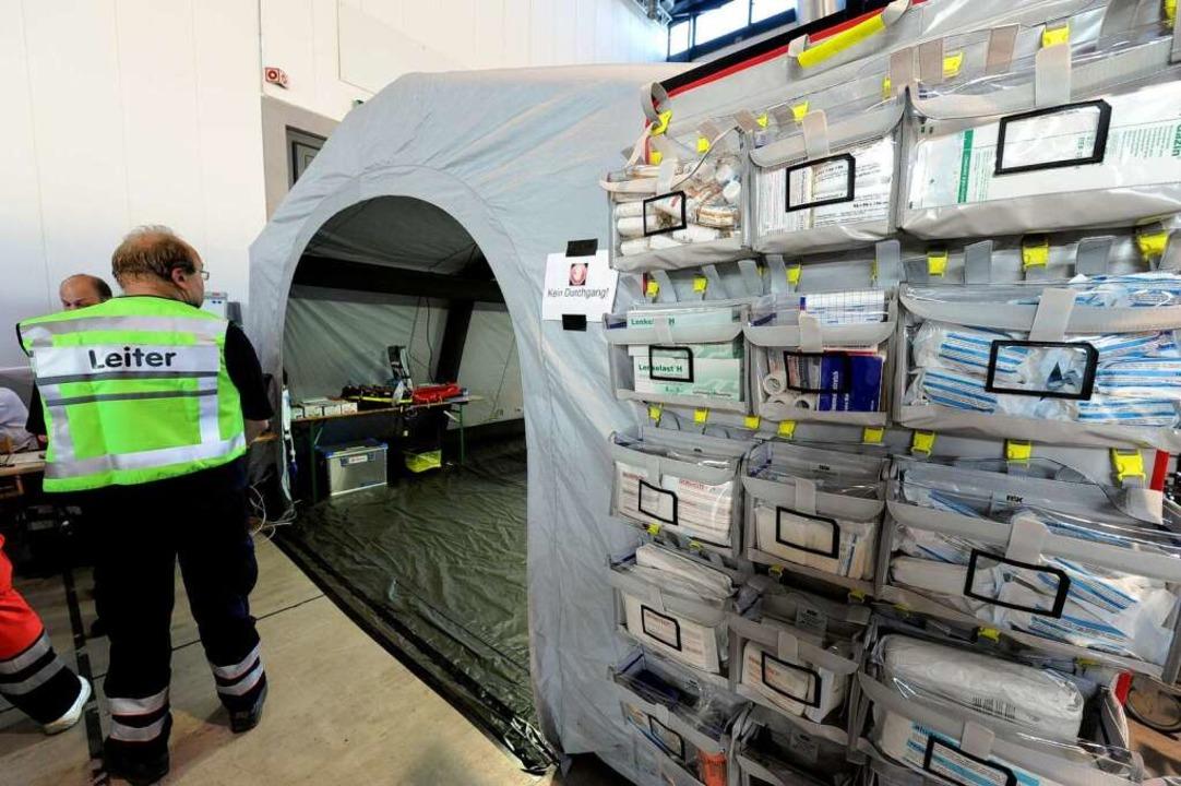 Das medizinische Zentrum ist für alle ...ch aber vergleichsweise wsenig Arbeit.  | Foto: Ingo Schneider