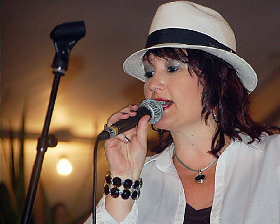 Als Sänger überzeugten wieder Brita Sperling <ppp></ppp>    Foto: Langelott