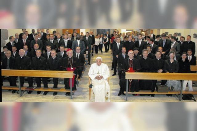 Dem Papst ganz nahe