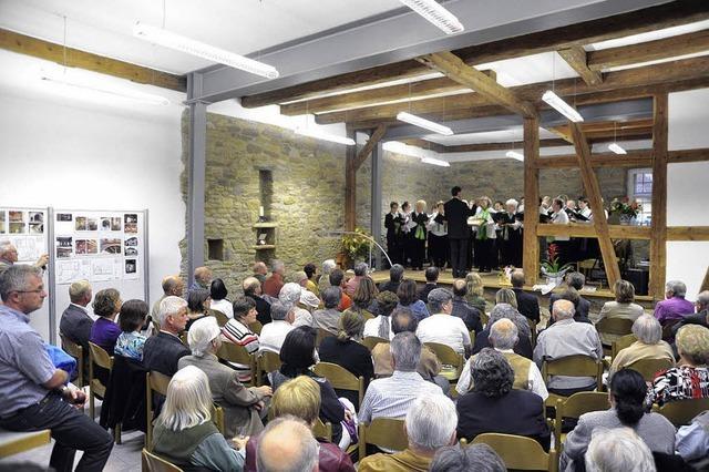 Dorfgemeinschaftshaus in Britzingen eingeweiht