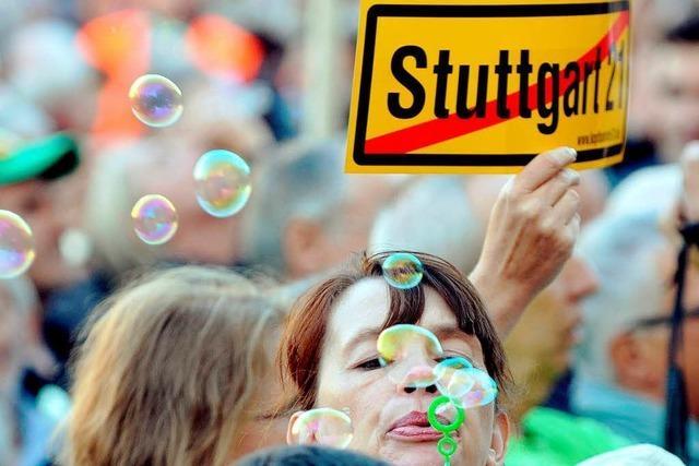 Stuttgart 21: Bahn will nicht Mehrkosten allein tragen
