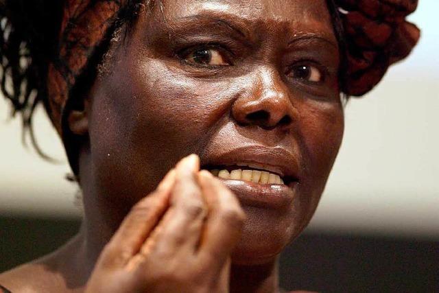 Friedensnobelpreisträgerin Maathai gestorben