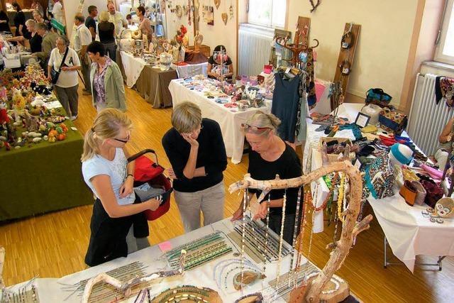 Kunsthandwerk und Einkaufsspaß in Kenzingen