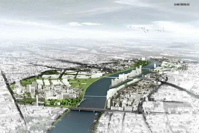 Basel, Weil, Hüningen: Pläne für trinationalen Stadtteil am Rhein