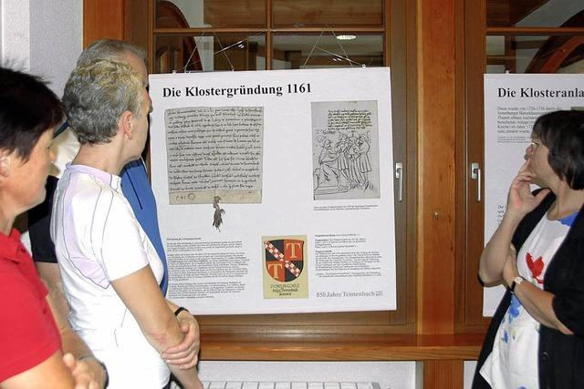 Einblicke in die Geschichte des Klosters Tennenbach