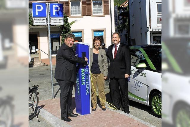 Waldkirch wird e-mobil