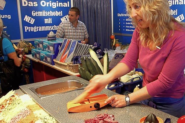 Oberrheinmesse: Händler, Tüftler und Unglaubliches