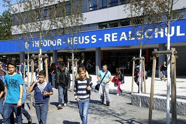 Theodor-Heuss-Realschule: 300000 Euro für attraktiveren Schulhof