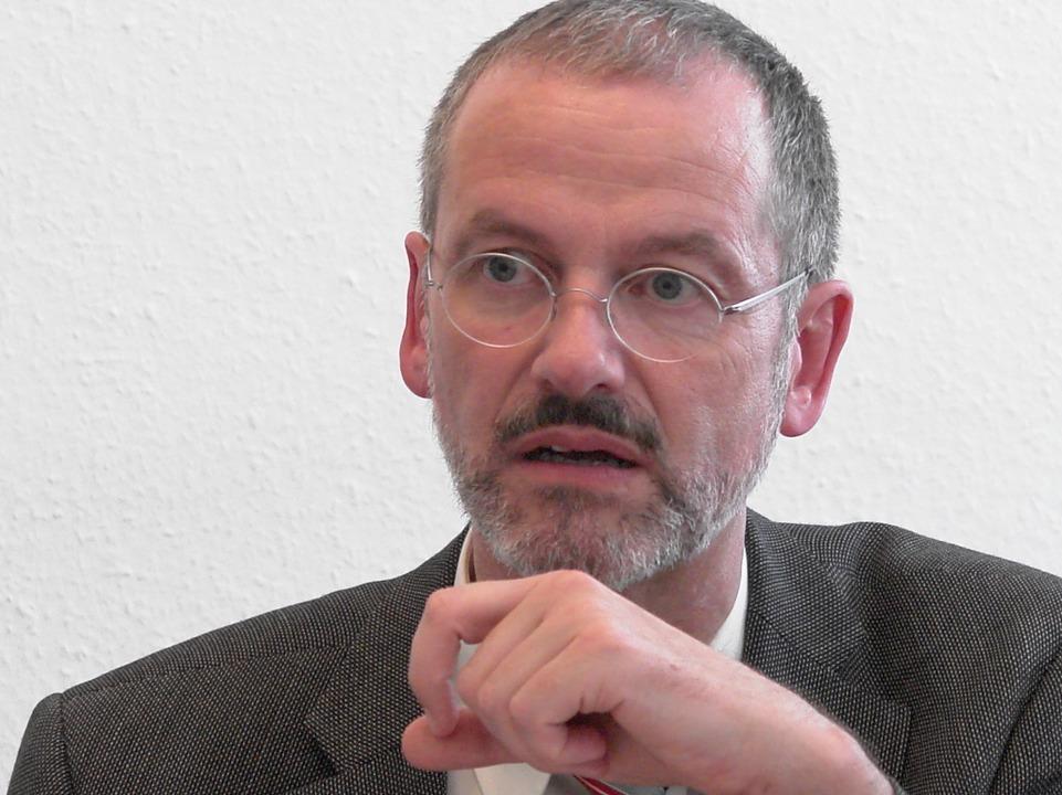 Peter Neher, Präsident des Deutschen Caritas-Verbandes.  | Foto: Wolfgang Grabherr