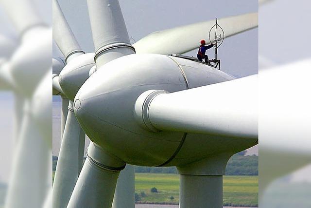 Windkraft soll einen kräftigen Schub erhalten