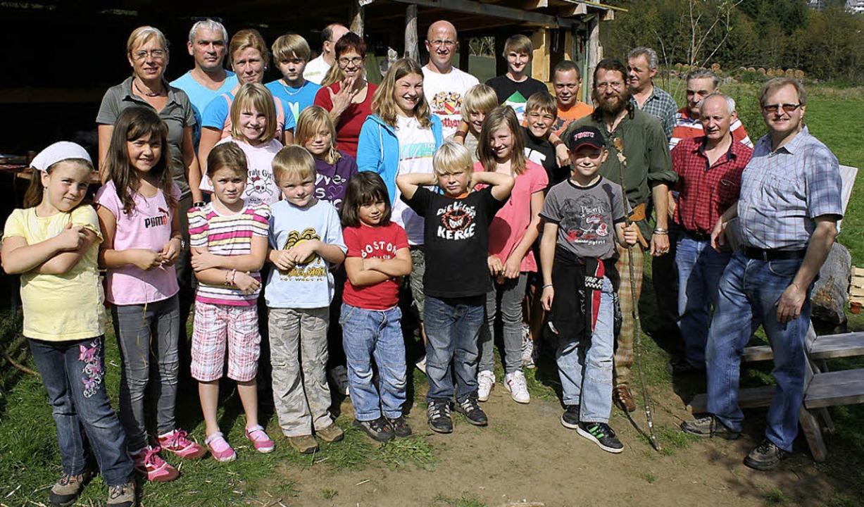 Der Schnupfverein Faulenfürst organisi...8 Kinder und Jugendliche nahmen teil.   | Foto: Privat