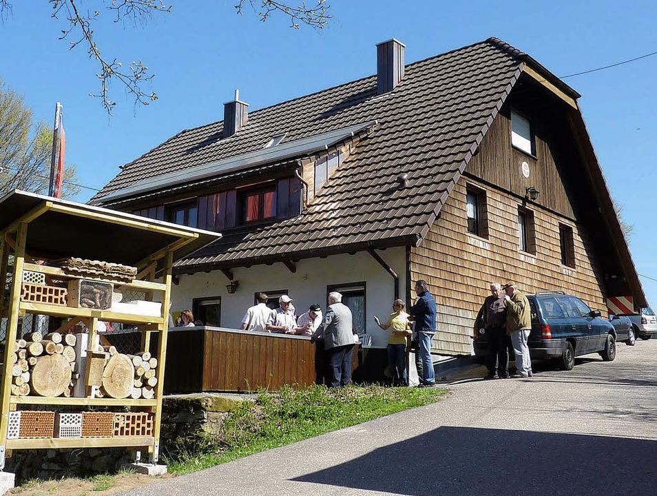 Das Naturfreundehaus auf dem Geisberg ...ge vom 30. September bis 4. November.   | Foto: Privat