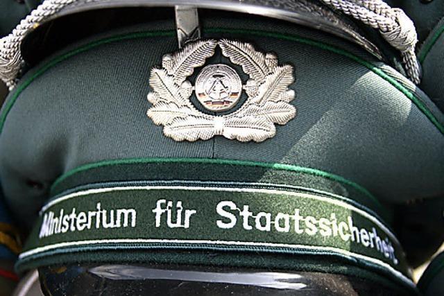 Ausstellung über die Stasi