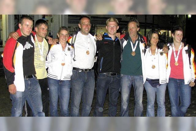 Bronzemedaille für die Tauziehfreunde Dietenbach