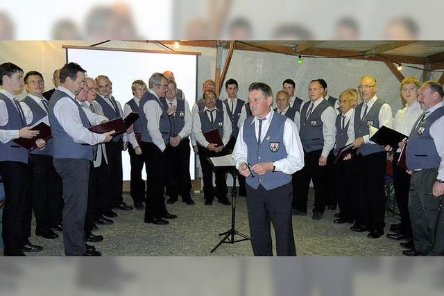 Gelungenes Gastspiel der Vogelbacher Sänger in Sitzenkirch