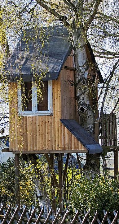 Gymnasiasten bauen ein luftschloss f r k fersberg - Baumhaus architekturburo ...