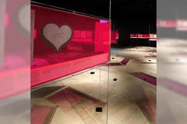 Ich liebe Dich! - eine Ausstellung im Literaturmuseum der Moderne