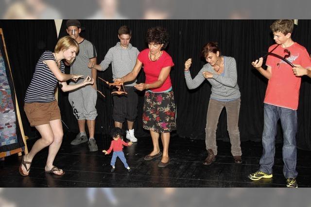 Theaterspiel in der Gemeinschaft