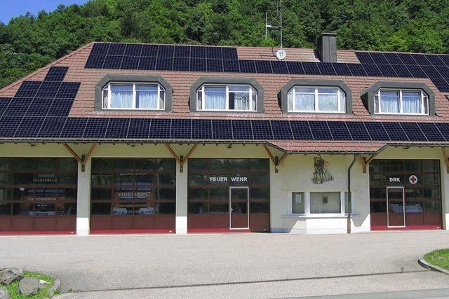 Photovoltaik auf Feuerwehrdach