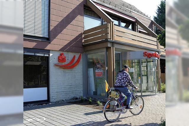 Überfall auf die Sparkasse in Kehl-Goldscheuer