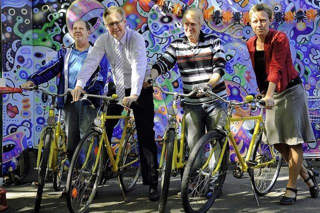 Künftig per Fahrrad unterwegs